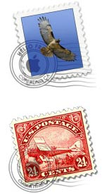 Stamp icons for Mail.app