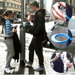 Urban Cup Holder, image taken from swissmiss.typepad.com